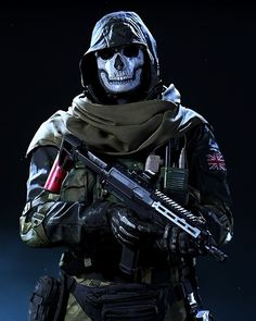 Call of Duty ( Cs Go Wallpapers, Best Gaming Wallpapers, Star Citizen, Call Of Duty Warfare, Ghost Soldiers, Rainbow Six Siege Art, Military Action Figures, Armor Clothing, Military Special Forces