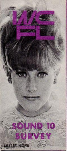 Lesley Gore - WCFL Radio Survey - w/e February 9, 1967 Voice Type, The Voice, Lesley Gore, February 9, Vintage Magazines, Female Singers, I Party, Beautiful Women, Movie Posters