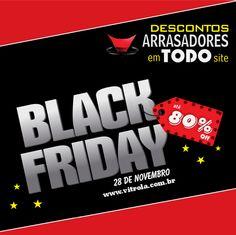 Vitrola.com.br na Black Friday! Artigos com até 80% de desconto.  Não fique fora dessa!  #BlackFridayVitrola   #PromoArrasadora