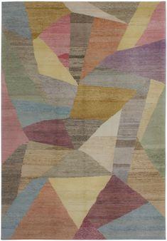 3701 Old Yarn Rug Dely 217 x 319cm