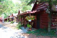 Tall Pines Inn-rustic cabins.