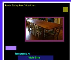 Rustic Dining Room Table Plans 192210 - The Best Image Search