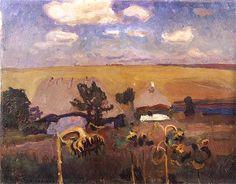 Jan Stanisławski (June 24, 1860 in Vilshana near Korsun, Ukraine – January 6, 1907 in Kraków) was a Polish modernist painter, art educator, as well as founder and member of various innovative art groups and literary societies. In 1906 he became full professor of the Academy of Fine Arts in Kraków