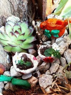 Fairy garden doplnky z modelovacej hmoty