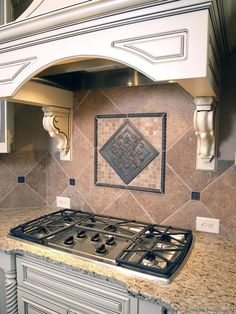 #Kitchen Idea of the Day: A variety of kitchen backsplash ideas.