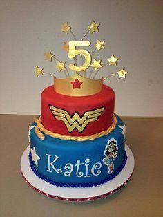 wonder woman birthday | by cake lady wpb