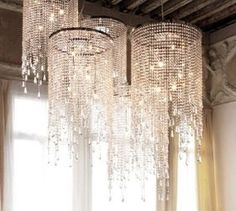 Chandeliers- the PERFECT flapper...hollywood glam chandelier!