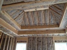 framing a tray ceiling - Google Search