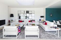 Villa in Atalaya Fairways, Marbella. Grupo Polo. Interior design by La Albaida Decoración.