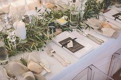 Wedding table decor, Stylishly rustic matakana wedding