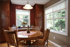 Wellborn Cabinets for your dining room!