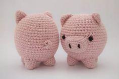 Chancho Chanchito Amigurumi Tejido Crochet Excelente - $ 220,00