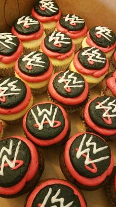 Cool-WWE-Birthday-Party-Ideas Well, here we have something truly exciting. Cool WWE Birthday Party Ideas are one of the most venturous birthday themes you could think of this year! Wrestling Birthday Parties, Wwe Birthday, Kids Birthday Themes, 4th Birthday Parties, Wrestling Cake, Wrestling Party, Fun Cupcakes, Birthday Cupcakes, Wwe Cake