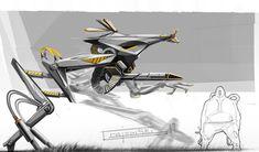 Concept robot art by our friend Christian Grajewski.                    Keywords: concept medical surgical precision robot robotics art by c...