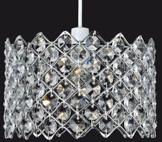 Firstlight Lighting has available a range of crystal lamp shades. The full range of these crystal non-electric pendants are supplied by Luxury Lighting. Value for money home lighting. Luxury Lighting, Home Lighting, Ceiling Lamp Shades, Lampshades, Chrome Finish, Electric, Pendants, Range, Money