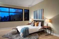 Modern Bedroom | Westcoast contemporary home by Best Builders Ltd. | Ema Peter Photography