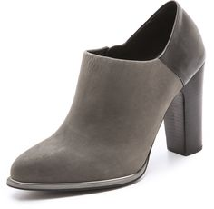 Two Tone Booties - Lyst