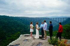 Long Point Trail Elopement // New River Gorge // WV Wedding venues // eloping in West virginia // Megan & Shawn — The Oberports