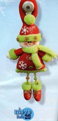 Snowman Crafts, Xmas, Christmas Ornaments, Holiday Decor, Diy, Home Decor, Vestidos, Holiday Ornaments, Christmas Door