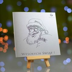 Business Christmas Cards Santa Claus