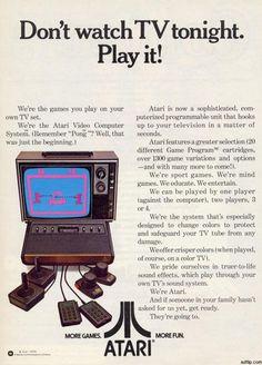 pub console jeu Atari 2600