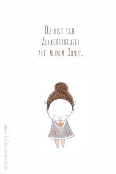 klitzekleine Donut Illustration