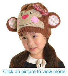 Maria Rosa Kid's Animal Beanie