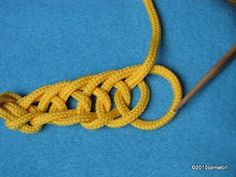 27 OSLO Stitch - Neulakinnas Nalbinding