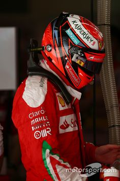 China Kimi topped the times in The Iceman showed that he has the race pace and Ferrari is fast! Racing Helmets, F1 Racing, Spanish Grand Prix, The Iceman, Formula 1 Car, Ferrari F1, F1 Drivers, Car And Driver, F 1