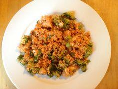 RECIPE: Buffalo Chicken Quinoa Salad | Easy, delicious, nutritious.