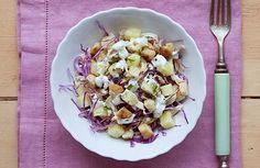 Salada de frango com repolho e molho de iogurte | Panelinha - Receitas que funcionam