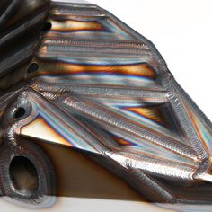 Perfect tig, look at the heat patterns!! Freaking amazing!!!!! Camburg Built Trophy Truck lower A-Arm. @miller_welders