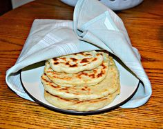 Homemade Naan - Hezzi-D's Books and Cooks