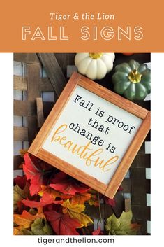 Fall Is Proof That Change Is Beautiful # herbst ist der beweis, dass veränderung schön ist # # Mantle thanksgiving decorations Fall Crafts, Holiday Crafts, Diy Crafts, Wooden Crafts, Holiday Decor, Thanksgiving Decorations, Halloween Decorations, Rustic Thanksgiving, Tobacco Basket