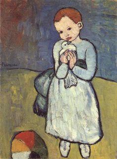 Picasso, LÉnfant au pifgeon (1901), London, The National Gallery, http://diverse.freepage.de/cgi-bin/feets/freepage_ext/339483x434877d/rewrite/ceeagemilton/gallerie/gallerie.html#picasso