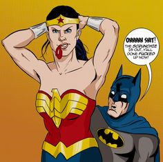 Why Wonder Woman Should Carry a Scrunchie Around