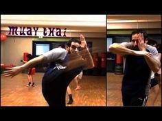 Muay Thai Program with some Basic Techniques for Beginners. *Lezione Muay Thai per Principianti : dimostrazione Tecniche di Base. by ITALYKICKBOXING YouTube ...
