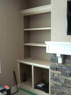 Hammers and High Heels: Feature Project: Holly and Brian's Fireplace Built Ins