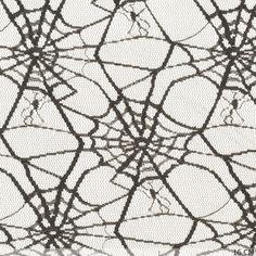 Spinnenweb zwart - Halloween - thema