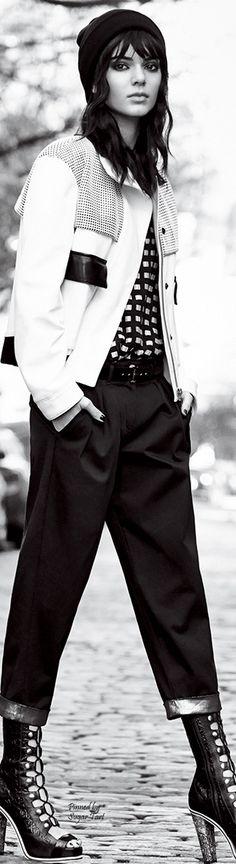 Kendall Jenner rocks street style