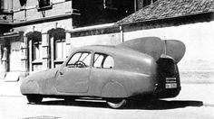 Mercedes 170V, 1939, gab es auch auf BMW-Basis ohne die Heckflossen!