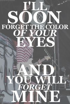 Pierce the Veil lyrics. I'm Low On Gas and You Need a Blanket. My favorite part of the song