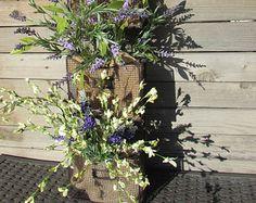 Lavender Wreaths Lavender Fields Spring Flowers by twoinspireyou