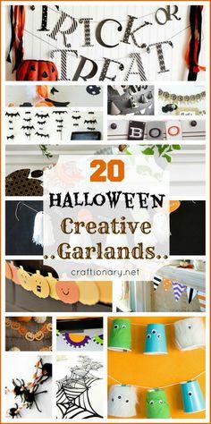 Creative Halloween Garlands