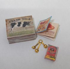 Dollhouse miniature country  box scale 1/12 by Teruka on Etsy