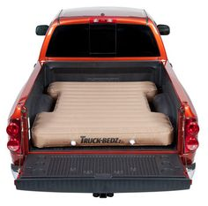 Truck bed air mattress... Just load it with blankets and pillows and watch the stars! YES! NEED!