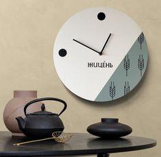 Bakery wall clock Personalized scandi wall clock Customized clock Bakery wooden decor Large wooden c Large Wooden Clock, Large Clock, Wall Clock Nursery, Minimalist Wall Clocks, Handmade Clocks, Clocks Back, Wall Clock Design, Modern Clock, Wooden Decor