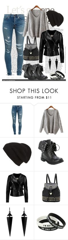 """#love that look#"" by edytamurselovic ❤ liked on Polyvore featuring Yves Saint Laurent, Phase 3, Chloé and Oasis"