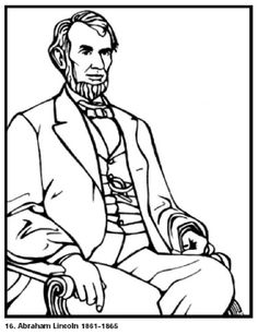 Coloring Sheets For All Of The Presidents Lots Different Ones To Choose From Each President