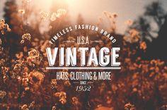 As Logos Vintage de Tom Anders Watkins   Criatives   Blog Design, Inspirações, Tutoriais, Web Design